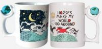 Horses Make My World Go Roung Mug