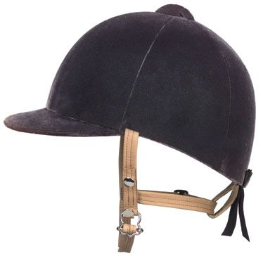 Royale Cotton Velvet Helmet
