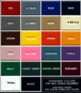 Phoenix West Color Chart
