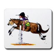 Happy-Go-Jumpy Mouse Pad