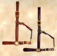 M. Toulouse Raised Padded Leather Halter